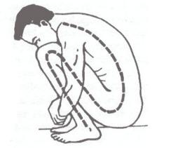 Posture accroupie